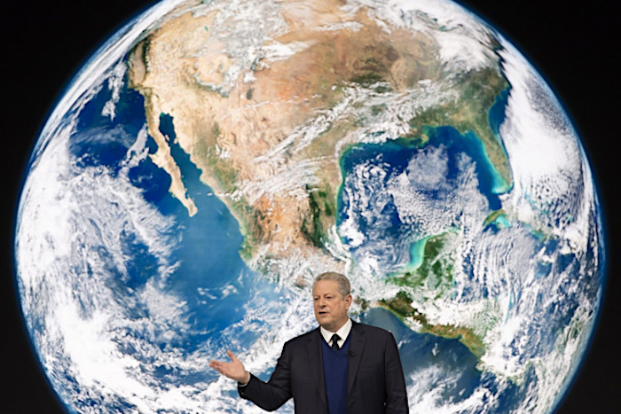Al Gore, former US Vice President and Nobel Peace Prize