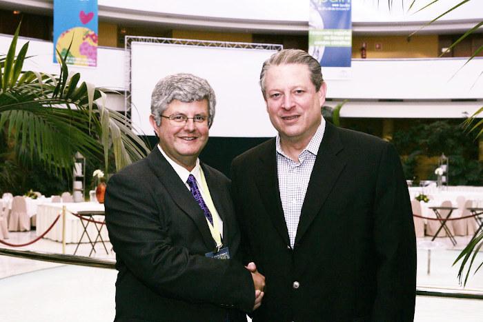 José Ramón Calvo y Al Gore