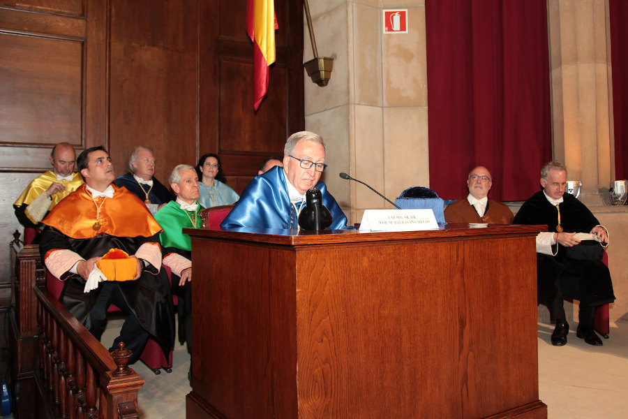 Acto de ingreso RAED de José María Baldasano Recio