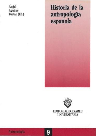 Historia de la antropología española