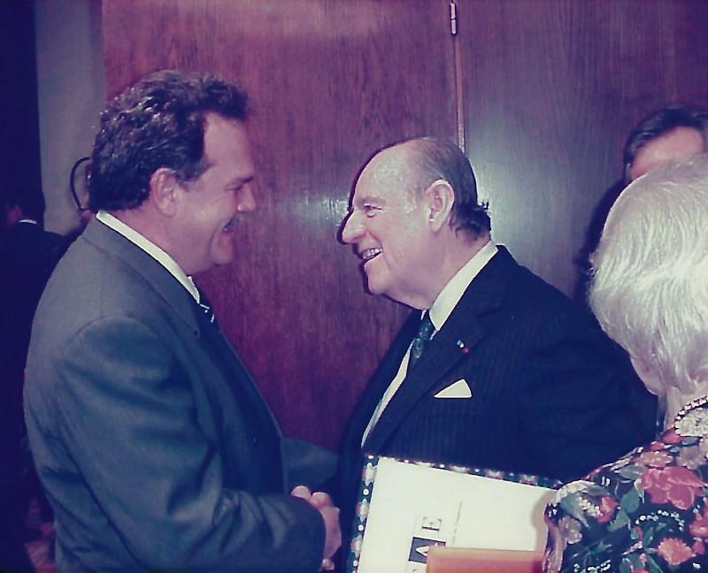 Dr. Alfredo Rocafort y Dr. Raymond Barre