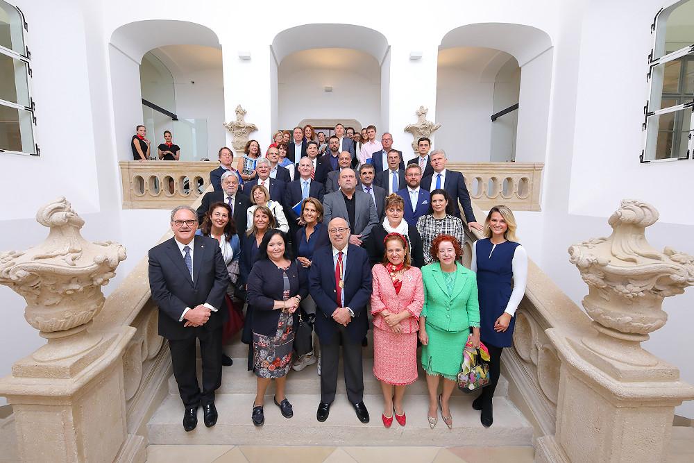 V Congrés Internacional - Budapest (Hungria) foto grup