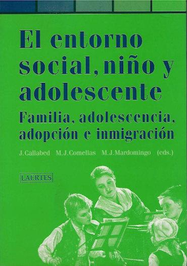 el entorno social niño y adolescente libro Joaquin Callabed
