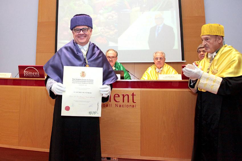Acto de ingreso en la RAED del Dr. Gregorio Varela Moreiras