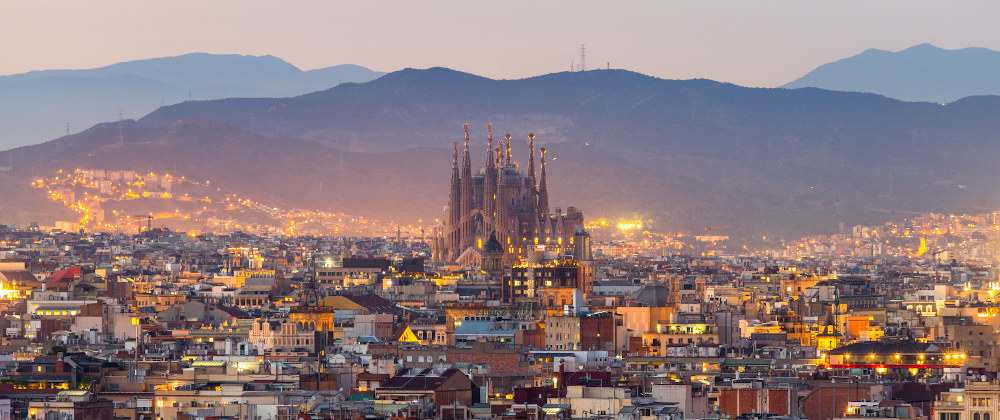 Cataluña desde China