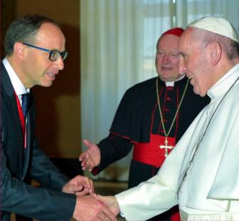 Francesc Torralba amb El Papa Francesc