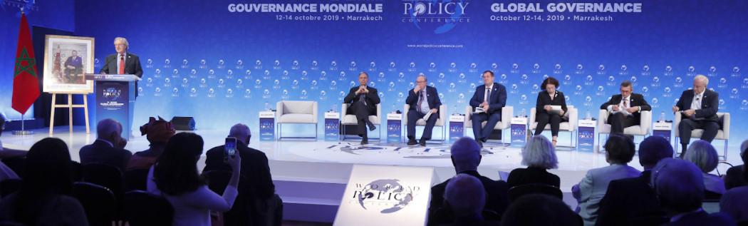 World Policy Conference, 12/octubre en Marrakech