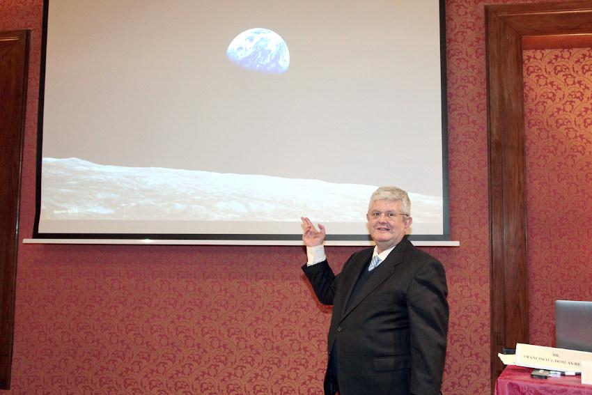 José Ramón Calvo en la sesión sobre cambio climático 2019