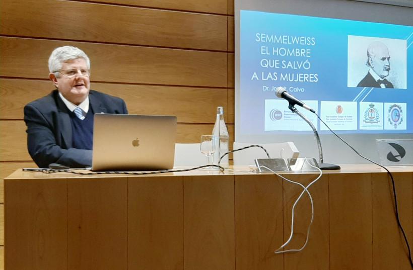 Dr. José Ramón Calvo ponencia: Semmelweis el hombre que salvó a las mujeres
