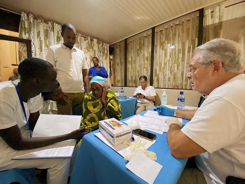 misión humanitaria de la Fundación Clarós