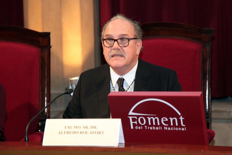 Alfredo Rocafort - Inauguración del curso interacadémico y del curso de la RAED 2020