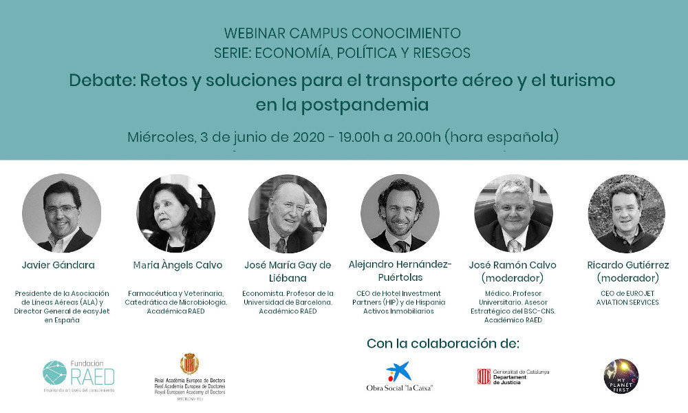 Debat: Reptes i solucions per al transport aeri i el turisme a la postpandemia