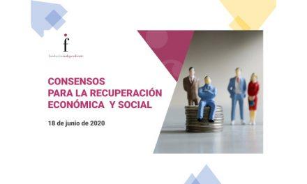"""Debat """"Consensos per a la recuperació econòmica i social"""""""