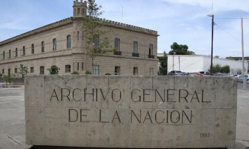 Archivo General de la Nación México