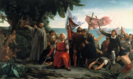 Enrique Sada en defensa de la conquesta d'Amèrica i el conseqüent final del domini asteca