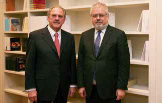 Joan Francesc Pont Clemente y Alfredo Rocafort Nicolau